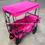 Chariot se pliant avec l'écran et le sac de refroidissement - sac rose