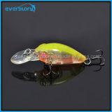 Hot Mini Swinger Crank Hard Fishing Lures Chine 35mm 3.8g Crankbait Bkk Crochet Profondeur 1.6-2m Trappe de pêche à la carpe