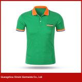 Camisas de polo maiorias personalizadas dos uniformes da companhia da alta qualidade (P115)