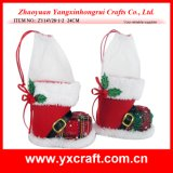 クリスマスDecoration (NetのZY14Y188-4-5-6) Chatoyant Silk Christmas Shoe Decoration