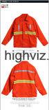 Alta Visibilidad Chaqueta Seguridad para Trabajadores de Limpieza (C2406)
