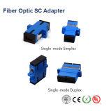 Sc/LC/FC/St/Mu/MTRJ/MPOのシンプレックスかデュプレックスまたはクォードシングルモードかマルチモードOm3/Om4/APCの標準かハイブリッド光ファイバアダプター