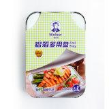 Wegwerfaluminiumfolie-Behälter für Kuchen-Backen