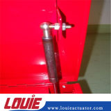 Gasolina llena de elevación neumática de gas de muelle para la caja de herramientas de camiones