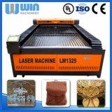 Cortador de acrílico de madera del laser de la cortadora del papel de cuero del MDF del paño