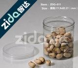 De plastic Duidelijke Lege Blikken van het Voedsel voor de Ingeblikte Verpakking van het Voedsel