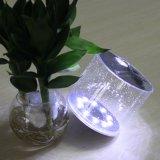 휴대용 이동할 수 있는 최고 밝은 LED 가벼운 자석 태양 팽창식 야영 손전등