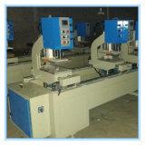 De Deur van pvc en Machine van het Lassen van het Venster de 2-hoofd, Venster die UPVC Machine maken