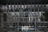 Het Vullen van de Olie van de Kokosnoot van de Fles van het glas het Afdekken Installatie