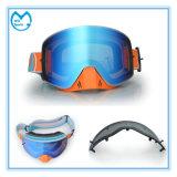 Lunettes promotionnelles reflétées de PC pour skier avec le butoir de nez