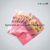 Migliore PVC di vendita Badg di plastica per l'imballaggio della caramella