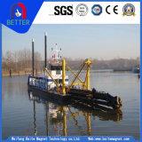Dragueur d'aspiration de coupeur hydraulique, dragueur hydraulique d'aspiration de coupeur de fleuve de 20 pouces pour la Malaisie