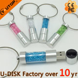 고품질 창조적인 선물 수정같은 유리 USB 지팡이