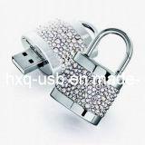 USB di figura della serratura del diamante (HXQ-D003)