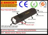 Shock elettrico lungo della lega di alluminio con l'indicatore luminoso del LED