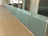 Trilhos Tempered populares do balaustrada do vidro do balcão de Europen/os de vidro com Ce