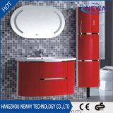 Самомоднейший шкаф тщеты ванной комнаты конструкции зеркала PVC СИД