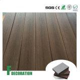 Decking extérieur en plastique en bois de plancher de WPC