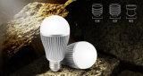 9W Dual a luz de bulbo branca do diodo emissor de luz