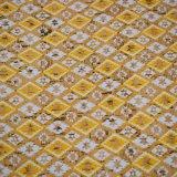 Cuoio decorativo stampato sintetico strutturato dell'unità di elaborazione dell'imballaggio di disegno del fiore dell'annata