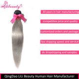 Grad 8A brasilianische Remy Menschenhaar-gerades Haar-Bündel