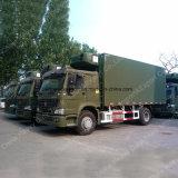 Camions frigorifiques Sinotruk HOWO 4X2 20t pour le transport Fresh Meet