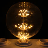 2016 New Globe Lâmpada LED G80 G95 Vintage Lamp