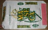 Sacchetto tessuto pp dell'imballaggio del materiale da costruzione per il sacchetto dell'imballaggio del cemento 50kg