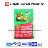 Мешок пакета еды любимчика стоя вверх мешок с мешком застежки -молнии