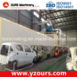 Powder automático Coating Line para Car Industry