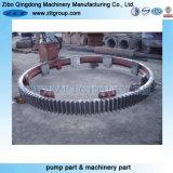 Grosser Ring verwendet auf Minenmaschiene mit Härte 60