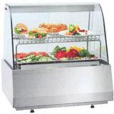 Aquecedor de alimento de vidro comercial do restaurante do Showcase do indicador do aquecedor de alimento