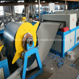 Máquina de formação de dutos de ar para fabricação de tubos de ventilação