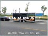 セリウムとの販売のカスタマイズされた移動可能なアイスクリームの食糧トラック