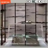 Frosting и перегородка Silk скрининга Tempered стеклянная для гостиницы