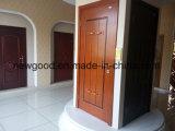 Изготовление двери твердой древесины