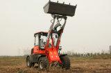 O CE do tipo de Everun Certificated articulou o carregador pequeno da roda de 1.6 toneladas