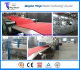 カーペットのマットの突き出る機械を巻かせるライン/PVCにプラスチックPVC車のマット