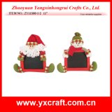 Item al aire libre del uso del regalo de la decoración de la Navidad de la pizarra de la Navidad de la decoración de la Navidad (ZY11S80-1-2)