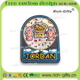 Aimants Jordanie (RC-JN) de réfrigérateur de PVC du souvenir 3D de cadeaux de promotion