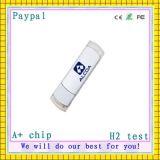 Flash blanco del USB del precio bajo (CROMATOGRAFÍA GASEOSA--U001)