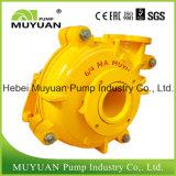 Pompe centrifuge de boue de traitement minéral d'alimentation d'hydrocyclone
