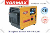 Yarmax 4kw 5kw 침묵하는 디젤 엔진 발전기 Genset 6500e