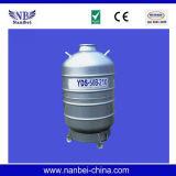 Tanque biológico do nitrogênio líquido do transporte de Cryopreservation do sémen