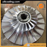 CNC de alumínio Machining Compressor Wheel Used de Alloy para Turbocharger Ylcw-170