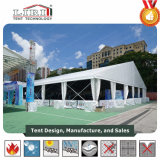 Estructura clara de aluminio de la tienda del palmo para el comercio justo al aire libre