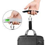 Escala lida fácil compata portátil eletrônica da bagagem do LCD Digital do peso leve