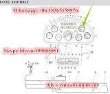 Sdlg LG936 LG938LG956 LG968の車輪のローダーの予備品エンジンの水温ゲージSw201c 4130000289
