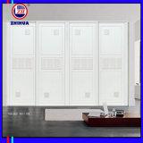 De witte Garderobe van pvc van de Melamine (ZH0098)