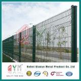 溶接された網の塀PVC上塗を施してある塀のパネルか金属の塀のパネル